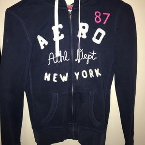 Navy blue Aeropostale jacket